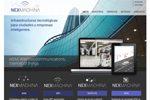 Nexmachina web
